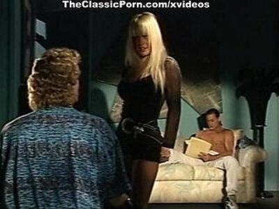 Alexandra Quinn, Carolyn Monroe, Savannah in classic porn movie clip   -classic-vintage-