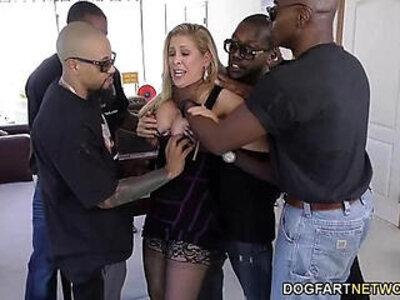 Cherie deville gets gangbanged by big black cocks | -black cock-gangbang-monster cock-