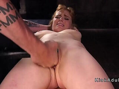 Rough pussy and fuck for redhead slave | -punishment-pussy-redhead-rough-slave-