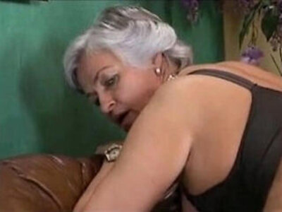 Grey Haired Granny in a Gangbang | -gangbang-grandma-granny-