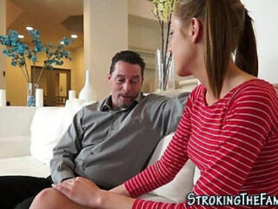 Pigtails stepteen banged | -banged-stepfamily-