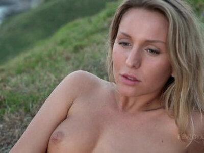 Sensual sunset tease | -czech-sensual-teasing-