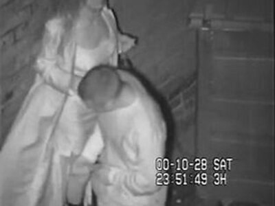 British Slut Caught Shagging On CCTV Behind The Dancing | -ass fucking-british-caught-dancing-hidden-sluts-