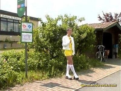 German Doll loves being picked up | -bukkake-doll-german-love-