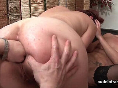 FFM French milfs ass fucked and pussies fist fucked in threeway | -ass fucking-ffm-fisting-french-pussy-