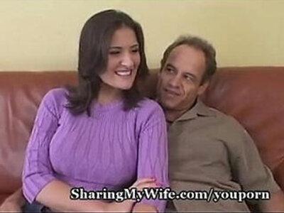 Sharing My Wifes Big Tits | -amateur-big tits-sharing-wife-