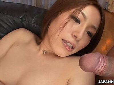 Boss jerking off as she wanks with her clitty | -boss-japanese-jerking-
