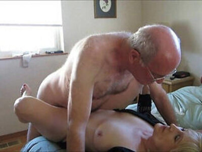 Old Couple Hooks Up Online For Sex | -couple-old man-older-sex tape-