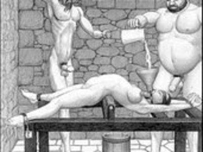Dungeon terrors brutal extreme bondage bdsm toons art | -bdsm-bizarre-bondage-brutal-cartoons-extreme-