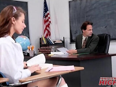 Skinny High School Girl Fucked By Teacher In Detention | -high school-skinny-teacher-