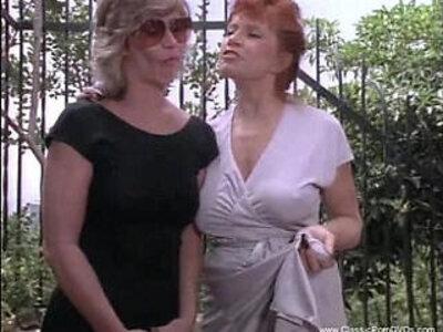 Kinky Lesbians Tro Some Discipline | -classic-kinky-lesbian-
