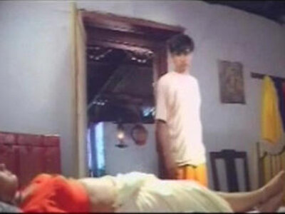 Young Boy tempting and Raiding the Mallu Aunty   -aunty-boy-young-