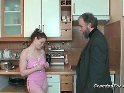 Redhead gets her pussy licked by her boss | -boss-housewife-old and young-pussy-redhead-