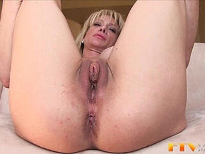 Milf shows massive clit | -clit-milf-