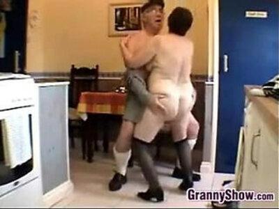 Horny Grandma And Grandpa Having Sex | -grandma-grandpa-horny-old man-