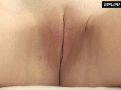 Dunja Kazimkina masturbating and showing pussy | -defloration-masturbation-pussy-