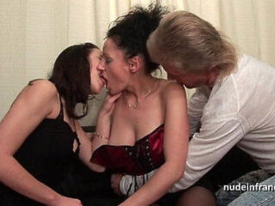 Ffm amateur couple teaching a young brunette babe in hard fist didlo fuck | -amateur-brunette-couple-ffm-fisting-french-