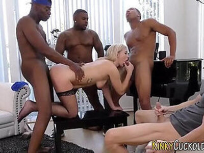Cummy mouthed cuckold ho   -cuckold-cum in mouth-