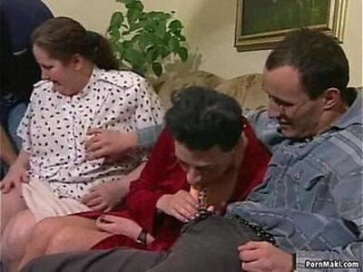 Granny orgy porn   -granny-older woman-orgy-