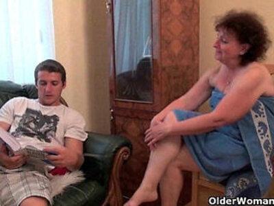 Why are you touching my penis grandma? | -grandma-penis-