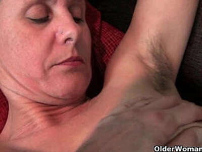 Hairy granny with hard nipples | -hairy-nipples-
