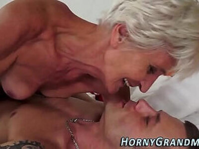 Sperm mouthed granny wants to fuck | -cum in mouth-granny-sperm-