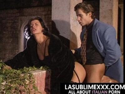 Scopata sul terrazzo! Vintage Italiano | -italian-vintage-