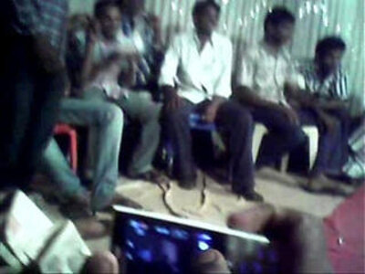 Telugu aunty dance show in public | -aunty-dancing-public-