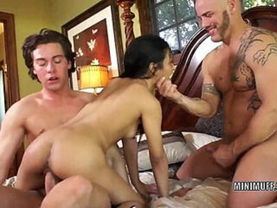 Filipina coed sydnee taylor gets team fucked in a threesome | -3some-coed-exotic-filipino-