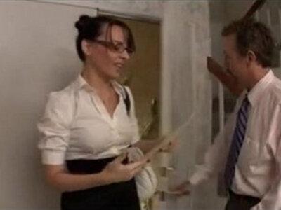 Secretary anal | -anal-glasses-secretary-
