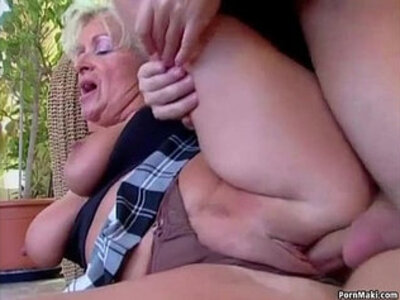 Big titted mom takes young cock | -cock-mom-older woman-titjob-young-