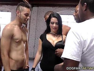 Katrina Jade sucks black cocks | -big cock-black cock-