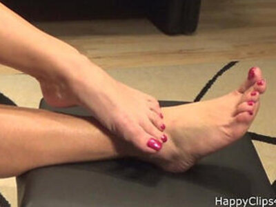 Mommy barefoot foot fetish promo video | -foot fetish-mom-mommy-