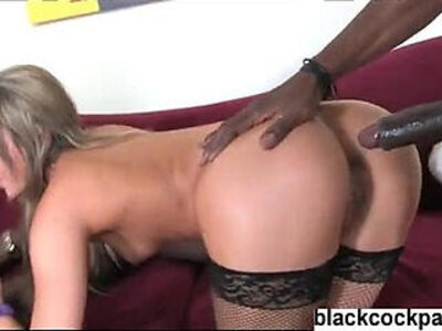 Interracial DP for a good looking white girl | -interracial-monster cock-white chick-