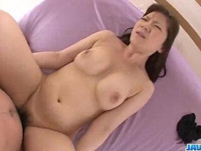 Dazzling POV show along big ass Ichika Asagiri | -big ass-insertion-pov-