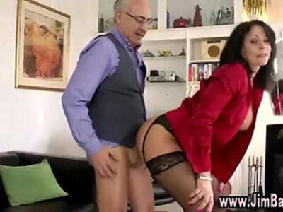 Stockinged whore pounded | -old and young-pounding-whores-